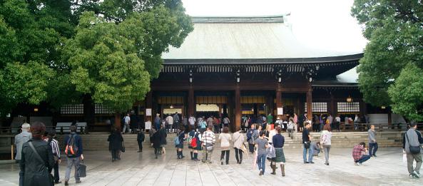 meiji-jingu - yoyogi park