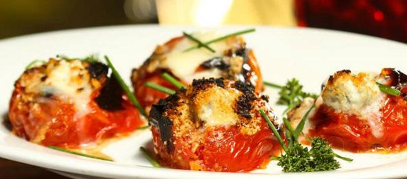 tomatinhos com gorgonza