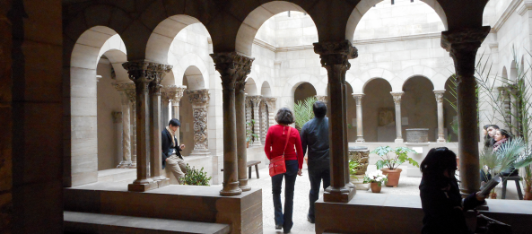 another inside the cloisters
