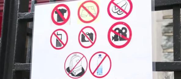 coisas proibidas