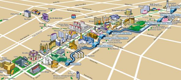 strip map